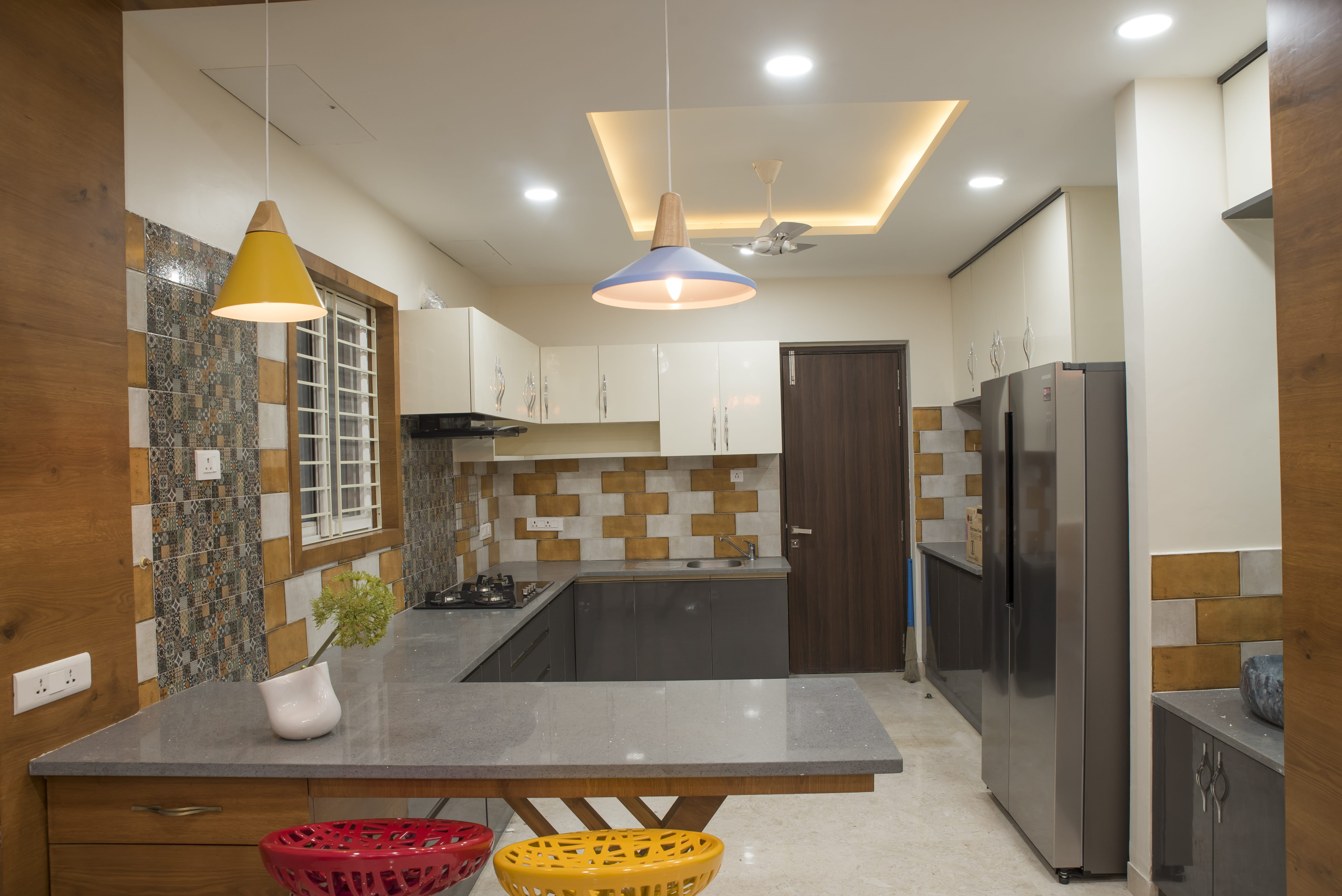 Small Kitchen Interior Design Ideas in Indian